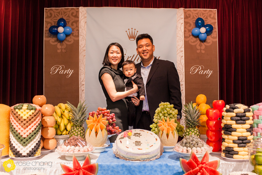 Jacobs 1st Birthday Korean Dol Virginia Childrens Photography